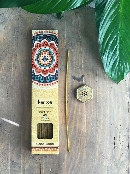 Vanilj, rökelsepinnar