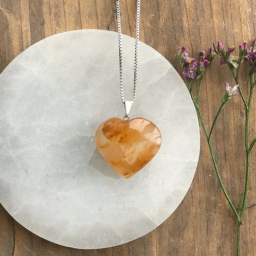Golden healer hjärta, hänge