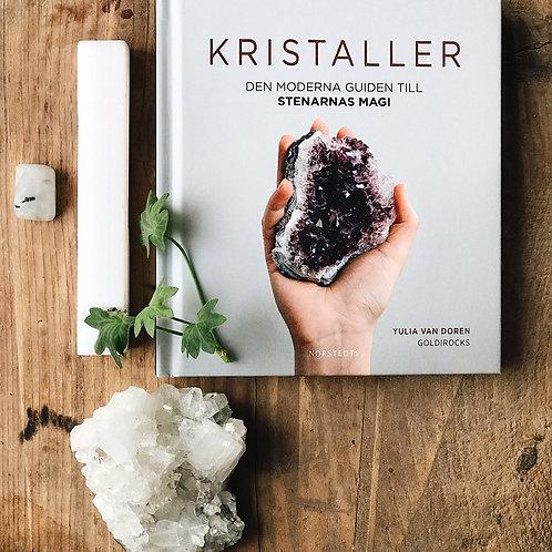 bok om kristaller, den morderna guiden till stenarnas magi