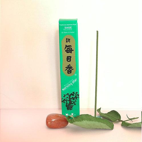 Salvia, rökelsepinnar