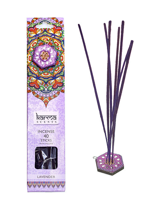 Lavender, rökelsepinnar