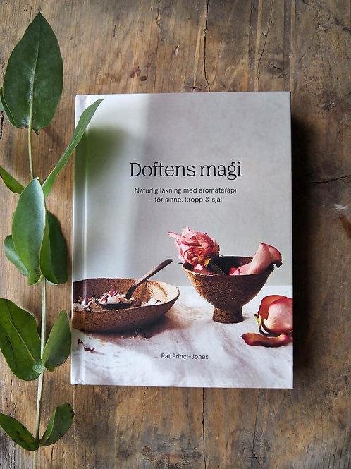 Doftens magi en bok om aromaterapi finns på House of Indra