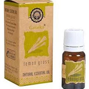 Citrongräs, essentiell olja