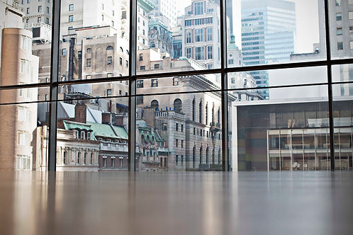 "Print ""Manhattan Museum View"" - Limited Edition of only 7 pcs. on acrylic glass"