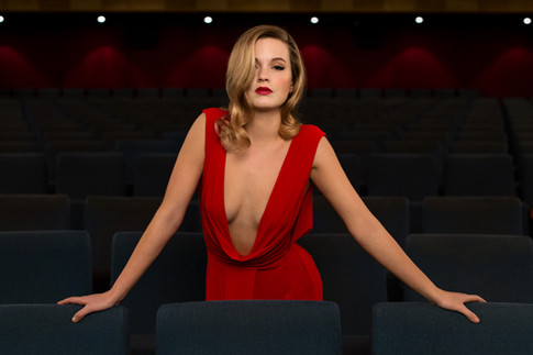 Editorial Lady in Red by Markus Bacher P