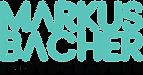 Schrift Logo Markus Bacher Photographer.