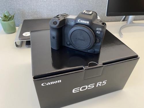 Mein neues Canon Flaggschiff: die EOS R5