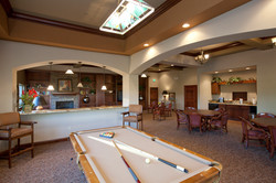 New Clubhouse Game Room