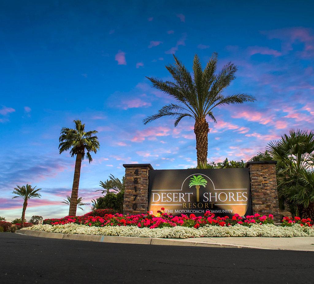 Luxury RV Park | Indio, CA | Desert Shores Motorcoach Resort