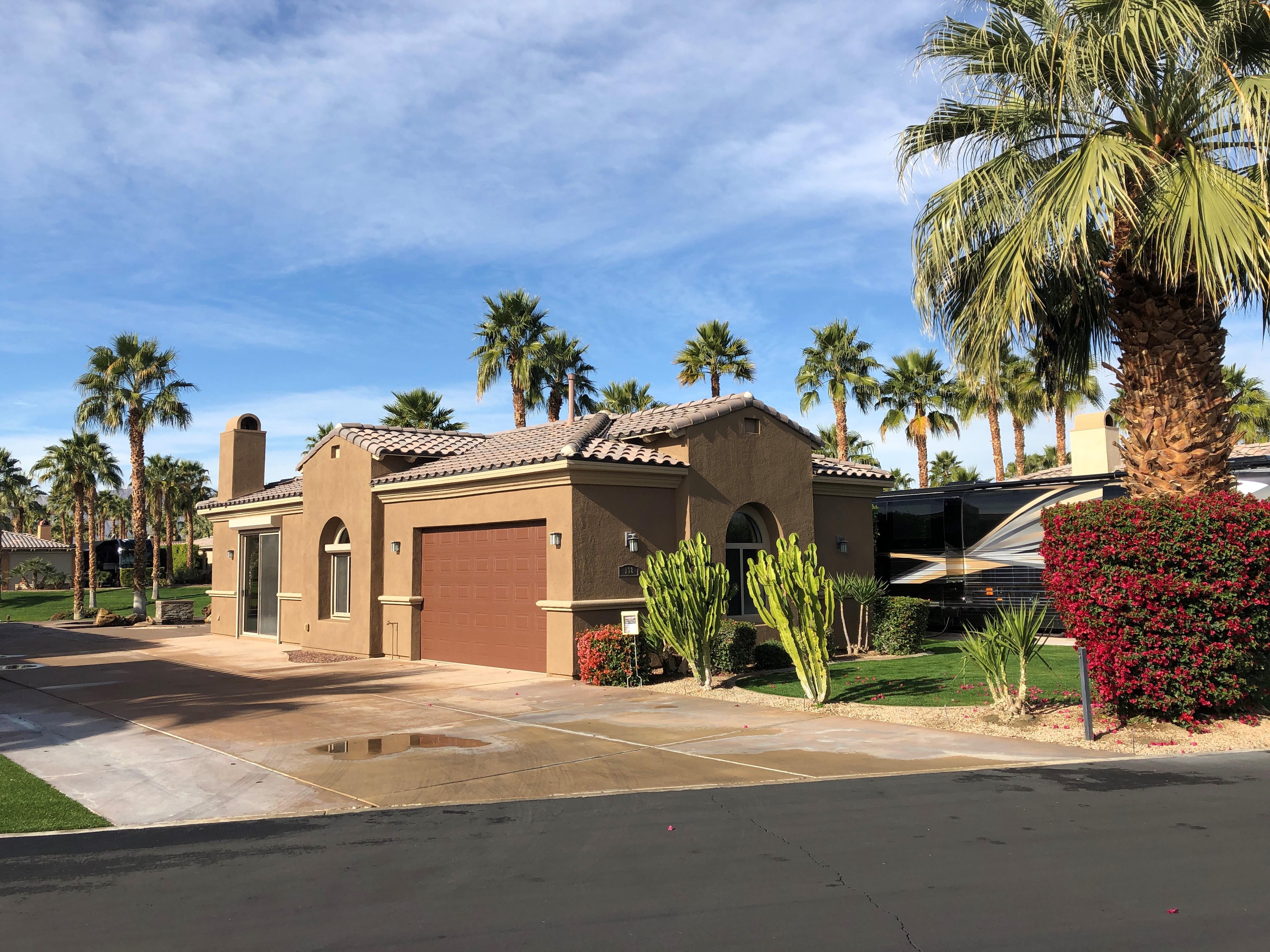 Lot 138 For Lease | Luxury RV Park | Indio, CA | Desert