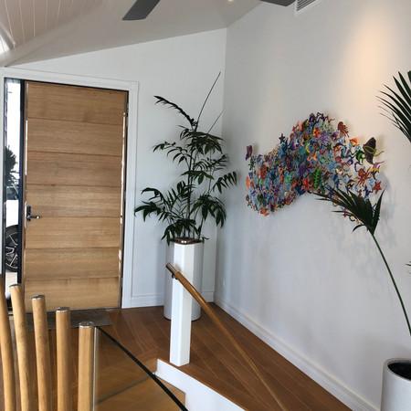 Modern entry.