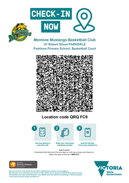 PARKDALE Secondary College Check In QR C