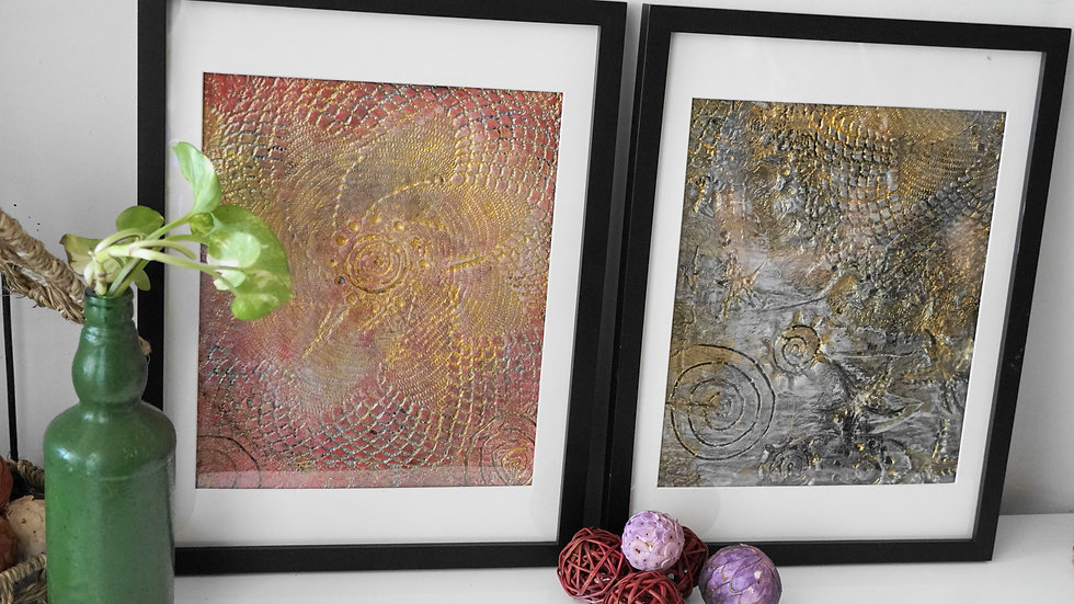 Highlighted with texture wall Paintings/Décor