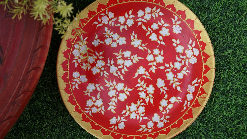 Wall Hand Painted Plate