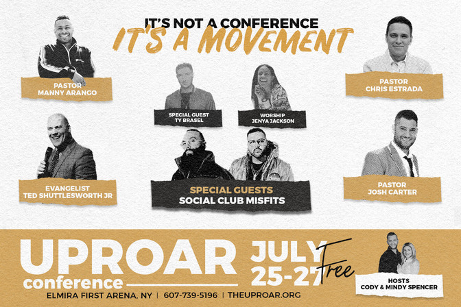 Will you join me for #Uproar19