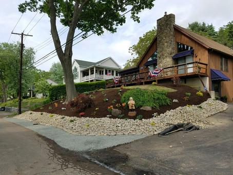 Hillside Landscaping Makeover In The Finger Lakes Region.