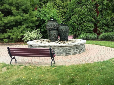 New Three Urn Water Feature.