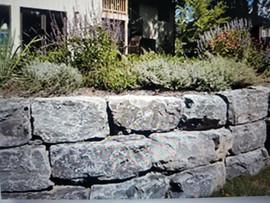 Retaining wall + Stone + Patio + Pavers