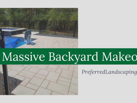 Massive backyard makeover
