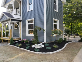 Deck + Curb Appeal + Shrubs + Garden Care