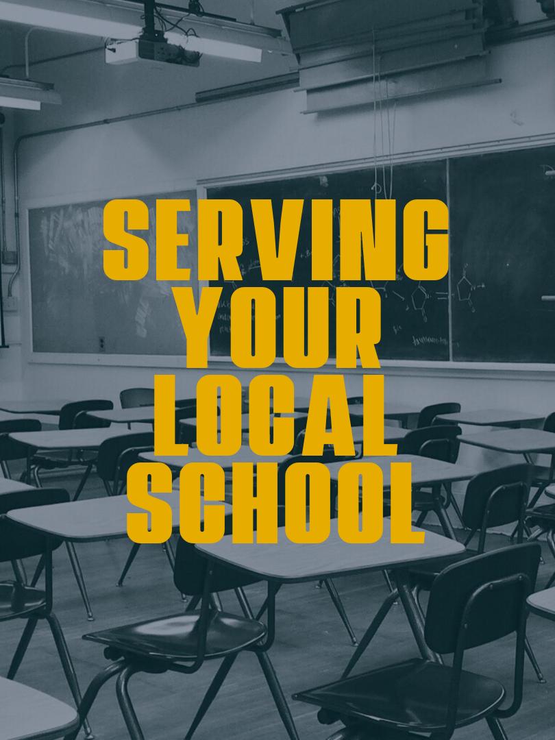 Serving Your School