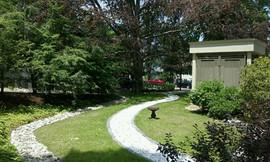Lawn care + Stonework + Edging + Shrubs