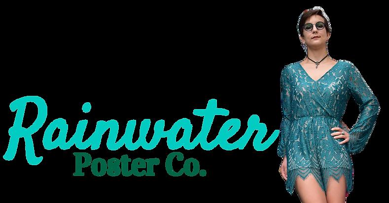 Rainwater Poster Co. Site Header