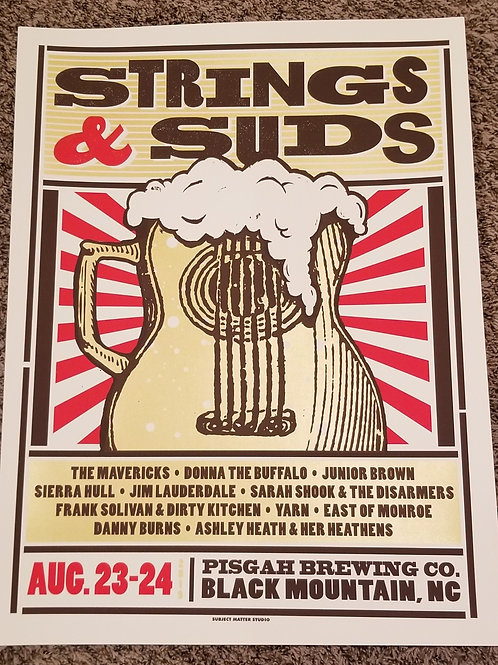 Strings & Suds Poster