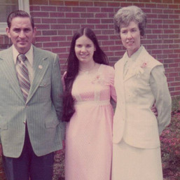 Mom with Granny and Papa