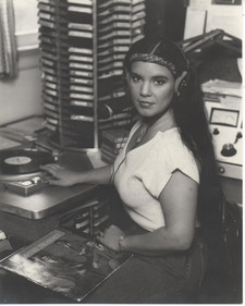 Mom DJ'ing