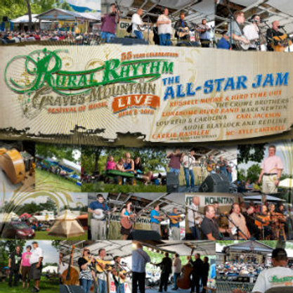 Graves' Mountain Live - The All-Star Jam - CD