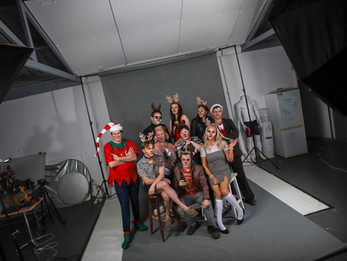 """And so ends a successful two week run of """"The 8 Reindeer Monologues"""" written by Jeff Goode."""