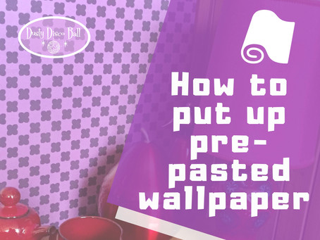 How to put up pre-pasted wallpaper - VIDEO