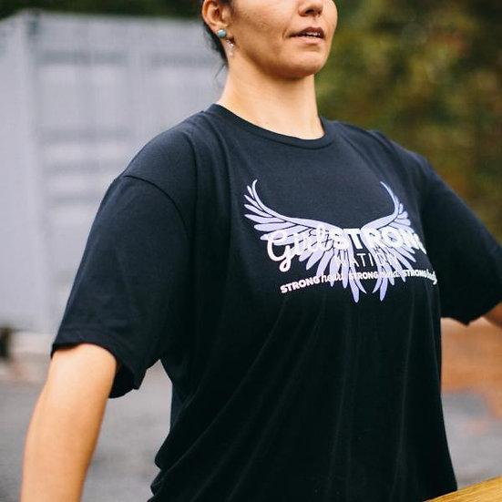 GSN Short Sleeve Unisex Tee with Wings