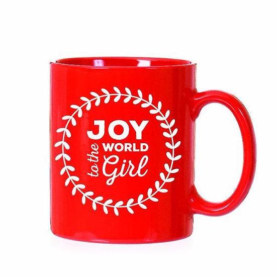 Joy To the World Girl Coffee Mug