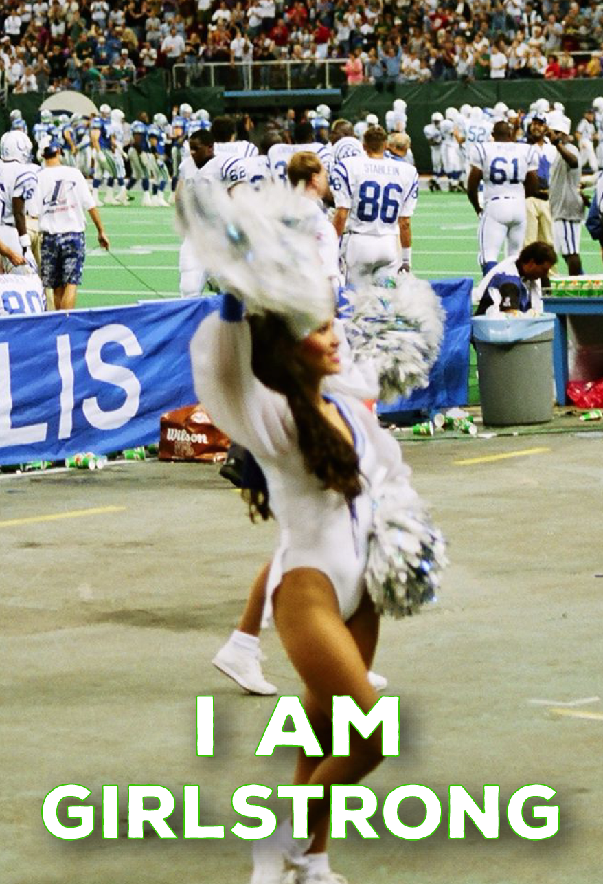 "GirlStrong Goddess, Seattle Seahawk ""Sea Gal"" Cheerleader Alumni"