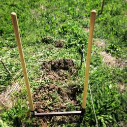 Grelinette pour aérer le sol