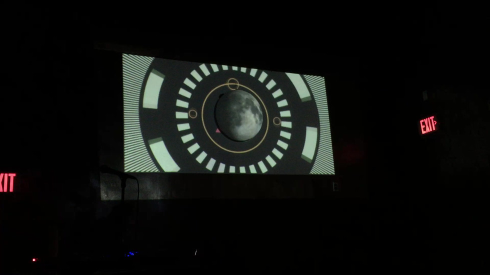 Moon Cycle' Installation