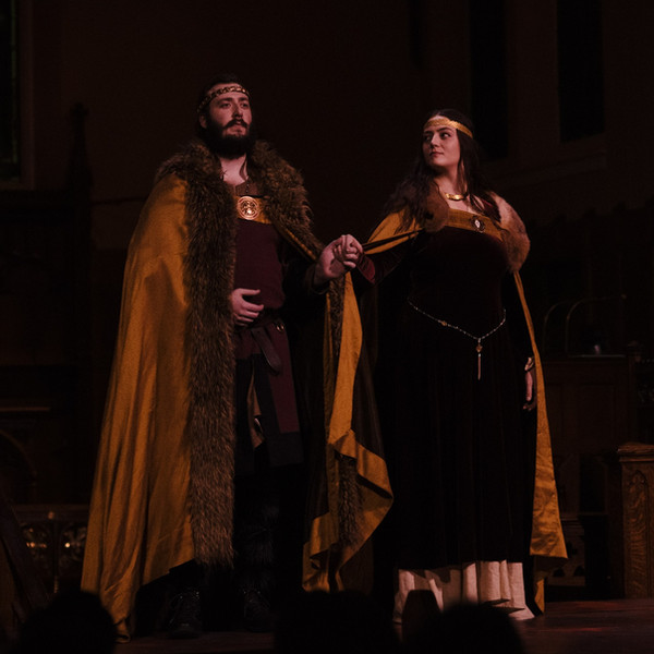 MACBETH, photo by BB Collective pictured with Byron Martin