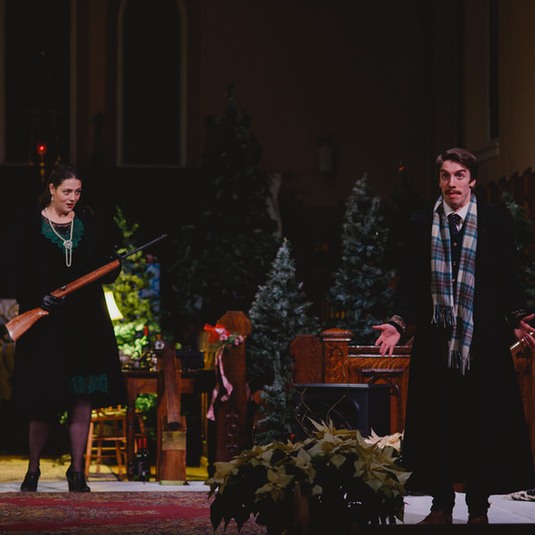 TWELFTH NIGHT, photo by BB Collective pictured with Andrew Cormier