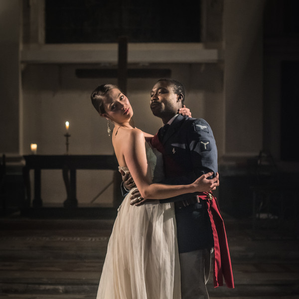 OTHELLO, photo by Patrick Dodds pictured with Jude Owusu