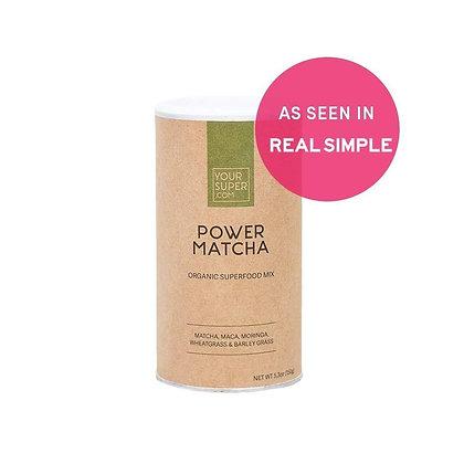 POWER MATCHA Organic Superfood Mix 150g | Your Super