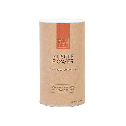 MUSCLE POWER Organic Superfood Protein Mix 400g | Your Super