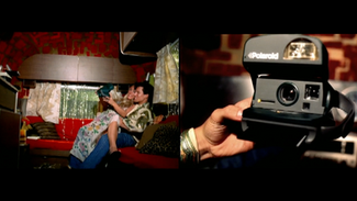 "Polaroid ""New Year's Kiss"""