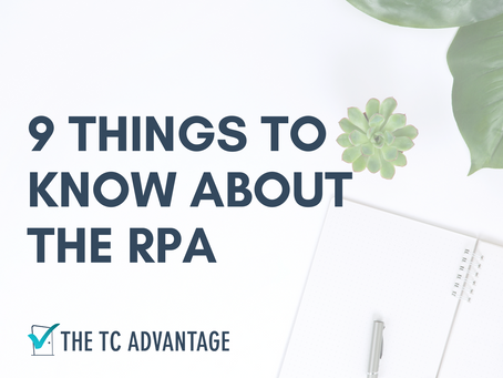 9 Things to Know about the RPA