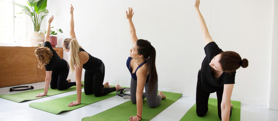 How this 3 minute Pilates exercise can make you feel more productive & energised throughout the day!