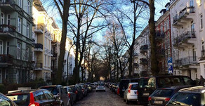 Ein Blick auf die Straßen Hamburgs!