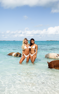 Maddie Louch and Fiona Barron