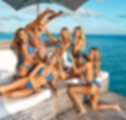 Charly Jordan, Gabby Epstein, Maddie Louch, Cindy Prado, Haley Ferguson and Kristina Schulman - Turks and Caicos