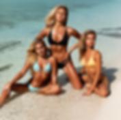 Maddie Louch, Bree Kleintop and Kristina Schulman - Exumas, Bahamas